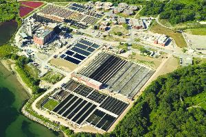 Lakeview Wastewater Treatment Plant expansion, west of Toronto.
