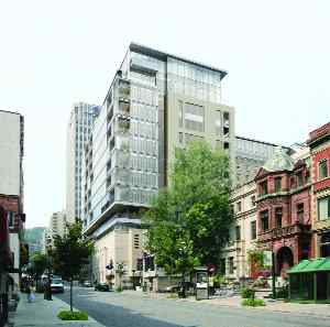 rendering of the renovated Ritz-Carlton Hotel, Montreal.