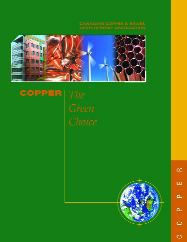 COPPER ...THE GREEN CHOICE NEW BROCHURE AND GREEN CASE STUDIES