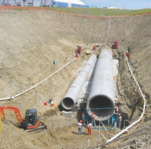 Marquis Industrial Sewer, Saskatoon.