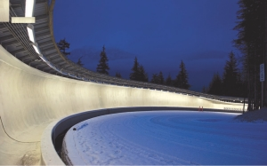 Whistler Olympic Sliding Centre. Stantec with Golder are the engineers.
