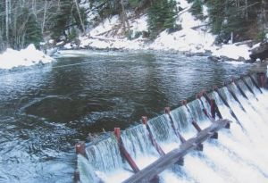 Above: Clayton Falls run-of-river generating station in Bella Coola.