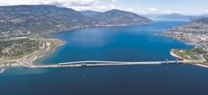 New William Bennett Bridge, Kelowna, B. C.