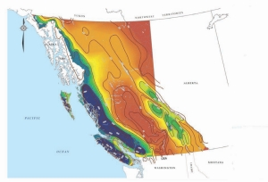 The company's model to identify annual flow rates for every stream.