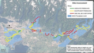 Northwest Hydraulic Consultants' modelling to assess dikes in the Lower Fraser Valley floodplain, B. C.