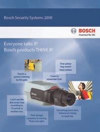 BOSCH SECURITY SYSTEMS PRODUCT OVERVIEW BROCHURE