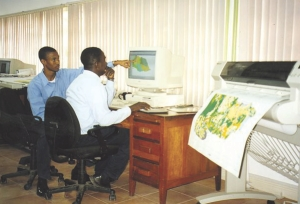 Jamaica's Forestry Department GIS Unit.