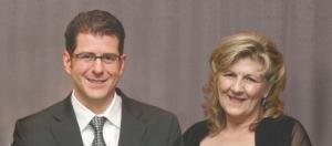 3 Integratededucation™ at Cohos Evamy integratedesign™, Calgary, Edmonton, Toronto. Jeff DiBattista (left), Judy Frain.