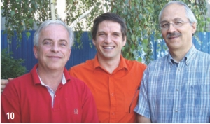 10 Khudi Hydropower Project, Nepal. BPR, Montreal. Left to right: Serge Proulx, Francois Vitez, Jacques Gauthier.