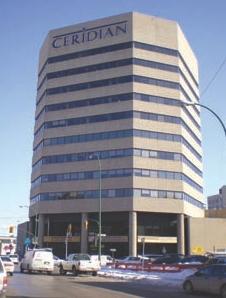 Above: 135 Garry Street, downtown Winnipeg.