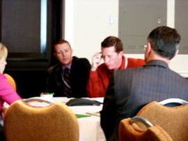 ACEC conference call with Minister Baird in progress