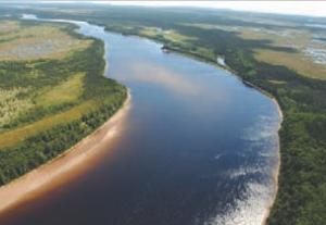 La Romaine River, Quebec