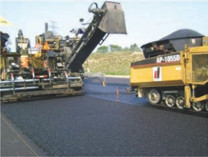 """Golder's """"perpetual pavement"""" being installed in Hamilton."""