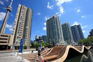 WaveDeck on Toronto's Central Waterfront