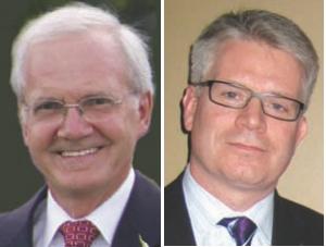 Left: Andy Robinson, P. Eng. Right: John Gamble, P. Eng.