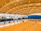 Richmond Olympic Speedskating Oval, Richmond,B.C.  Photo by Hubert Kang.