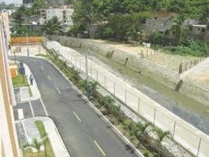 New Guajimia Canal in Santo Domingo, Dominion Republic
