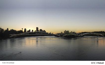 St. Patrick Bridge scheme by Halsall/RFR