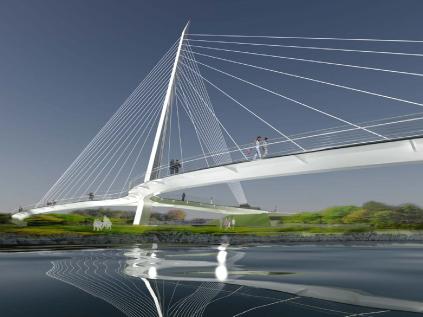 St. Patrick Bridge Scheme by Buckland & Taylor/Kitchell