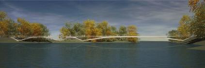St. Patrick Bridge scheme by ARUP/Falco Schmitt