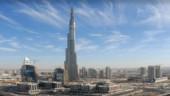 Burj Dubai stretches almost a kilometre skyward. Photo from www.burjdubai.com