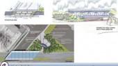Plans for Osborne Station on SW Rapid Transit Corridor, Winnipeg