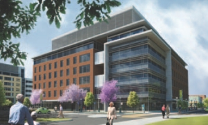 Design for Intergenerational Wellness Centre at CAMH, Queen Street West, Toronto.