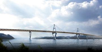 Deh Cho Bridge, rendering by Infinity Engineering Group