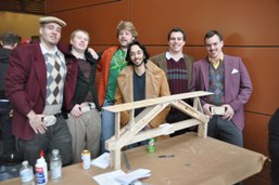 League of Extraordinary Gentlemen from McMaster and their Troitsky Bridge.