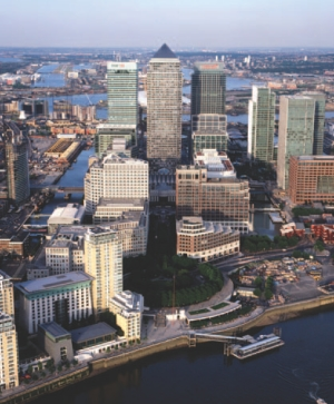Canary Wharf, London, U.K.H.H. Angus led an international team studying the utility needs for a huge block of commercial buildings on the site.