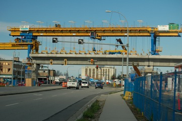 Canada Line project, top winner at the Consulting Engineers of B.C. awards which were handed out on Saturday night.