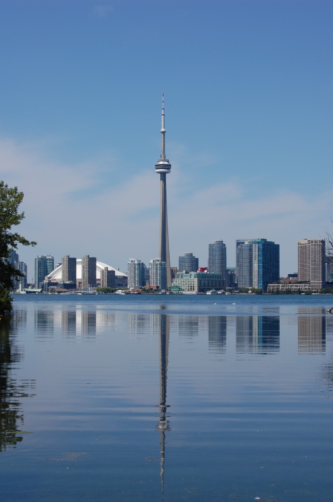 Toronto from Lake Ontario. Photo (c) MM/CCE
