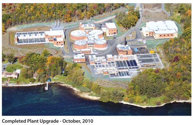 Ravensview Wastewater Treatment Plant, Kingston, upgraded by J.L. Richards & Associates, CEO Willis Chipman Award-winner, 2010