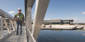 Pine Creek Wastewater Treatment Plant, Calgary.