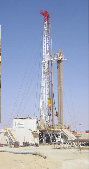 Drilling in Tazerbo.