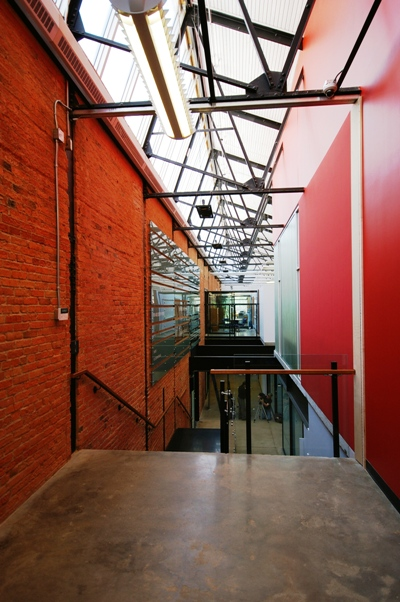 Triffo Hall, winner in the CISC-ICCA National Steel Design Awards' Sustainability category. Read Jones Christoffersen was the structural engineer.