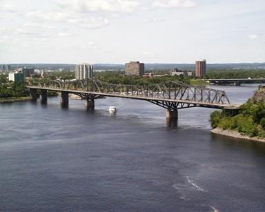 Alexandra Bridge, National Capital Region, Ottawa.  Courtesy PWGSC