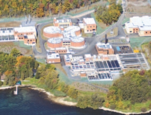 Ravensview Wastewater Treatment Plant, Kingston, Ont.