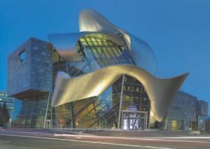 Building in the heart of Edmonton.