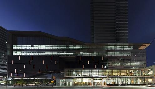 TIFF Bell Lightbox, Toronto. Photograph (c) Maris Mezulis, 2010. Courtesy KPMB Architects.