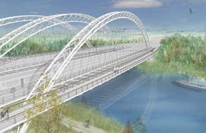 Strandherd-Armstrong Bridge, Ottawa.