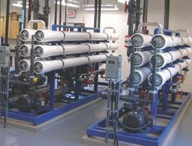 Duplex nanofiltration treatment.