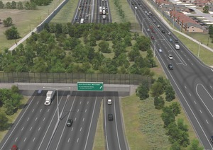 Design for the Pulford Bridge section of the Windsor-Essex Parkway.
