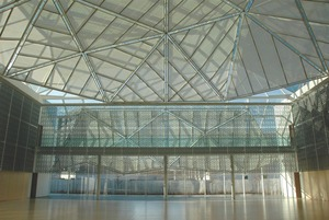 Atrium in the Delegation of the Ismaili Imamat in Ottawa.