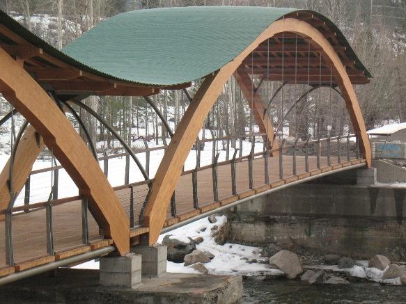 """Bridge of Dreams"" in Princeton, B.C. by Fast + Epp"