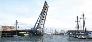 Design for new bridge over Victoria Harbour, B.C.