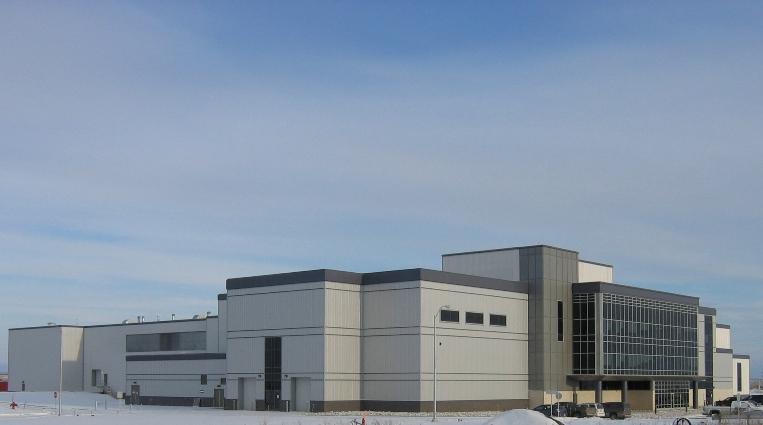 Winnipeg Water Treatment Plant, winner of the 2011 ACEC-Manitoba Keystone Award.