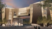 Artist's rendering of National Music Centre to be built in downtown Calgary.