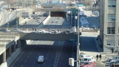 Ville-Marie Expressway, downtown Montreal, photographed in June. (BP/CCE)