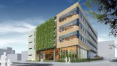 Centre for Interactive Research on Sustainability (CIRS) building, due to open in November at the University of British Columbia. The Canadian project was highlighted at the Greenbuild Conference in Toronto.  Image courtesy UBC.